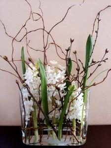 цветы белые декорация